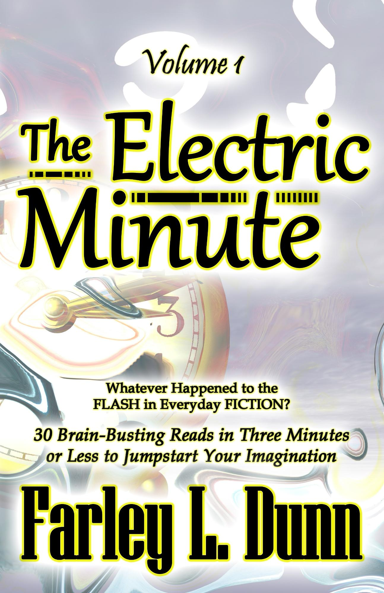 The Electric Minute Cover for Kindle Vol 1